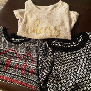 Lot of 3 Sweaters Maurices